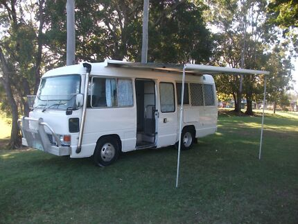 MOTORHOME TOYOTA COASTER Lawnton Pine Rivers Area Preview