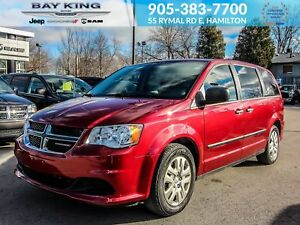 2016 Dodge Grand Caravan CVP, STOW'N'GO, BENCH SEATS, TINTED GLA
