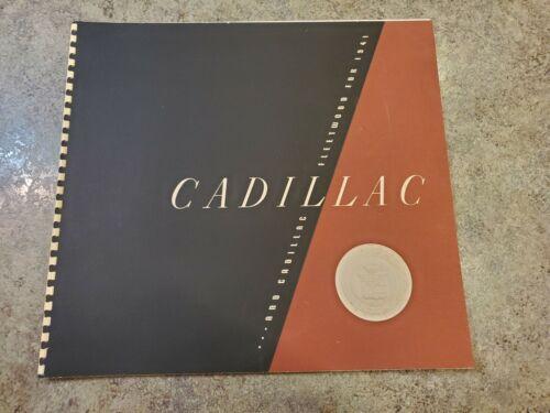 RARE 1941 Original Portfolio Sales Brochure CADILLAC FLEETWOOD Printed 1940