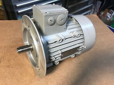 New Siemens 3-phase Electric Motor 1la70838ab91-z 34 480v 835rpm 0.25kw Tefc