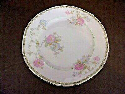 Vintage Victoria China Czechoslovakia 10 Inch Dinner Plate for sale  Shipping to Ireland
