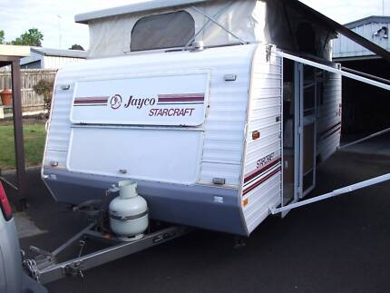 Jayco Starcraft pop top caravan 16ft.new roll out awning. 1992mod Pakenham Cardinia Area Preview