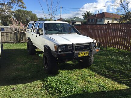 1989 Toyota hilux 2.8 turbo Glendale Lake Macquarie Area Preview