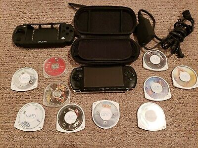 Sony PlayStation Portable Bundle With 7 Games/3 Movies