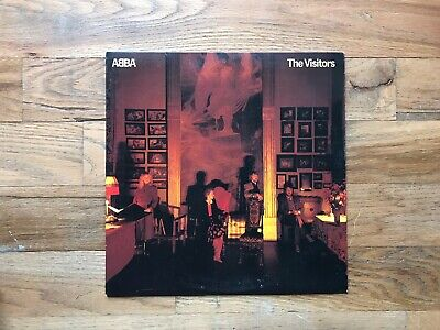 Abba The Visitors Lp