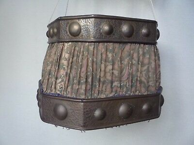 Edwardian/Arts & Crafts  Brass Lampshade