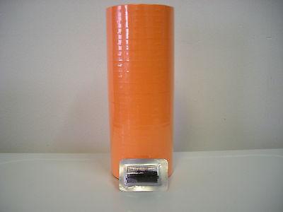 Fl Orange Labels For Monarch 1110 1 Line Label Gun Case15 Sleeves