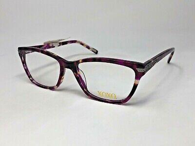 "XOXO ""CABO"" Eyeglasses Frame 51-16-135 Purple Pink Crystal Tortoise/Silver HF64 comprar usado  Enviando para Brazil"