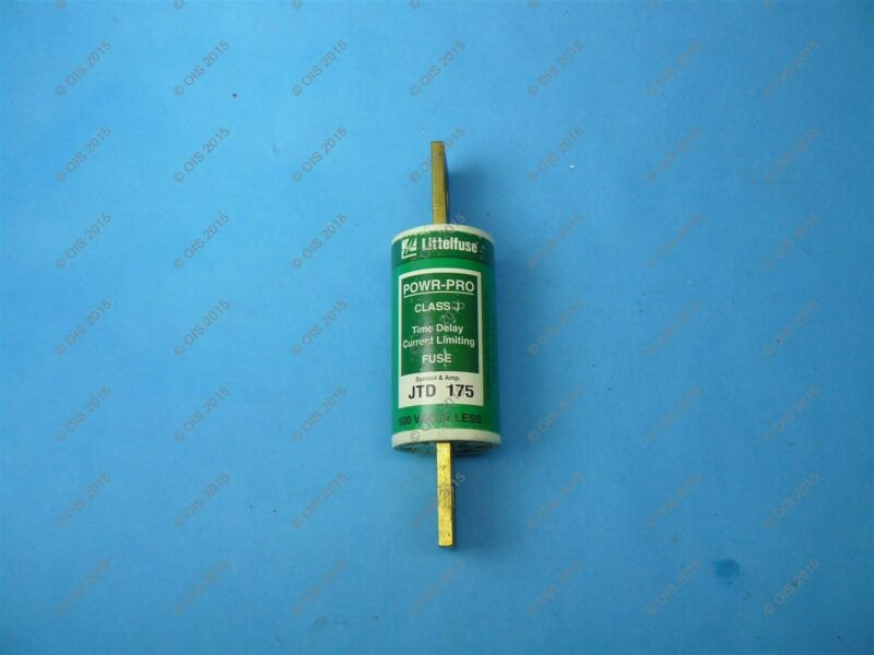 Littelfuse JTD175 Time-delay Fuse Class J 175 Amps 600VAC/500VDC New