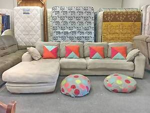 DELIVERY TODAY BEAUTIFUL GREAT CONDITION L shape corner sofa Belmont Belmont Area Preview