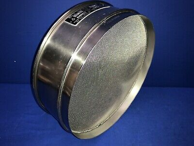 Humboldt No. 25 Usa Standard Testing Sieve Stainless Steel 12dia X 3-14deep