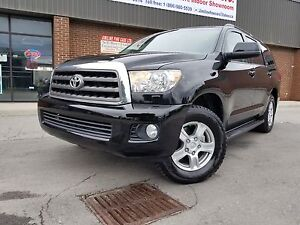 2011 Toyota Sequoia SR5 PKG LEATHER 8 PASSENGERS !!!