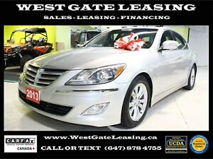 2013 Hyundai Genesis | LEATHER | SUNROOF | SEDAN | HEATED SEATS