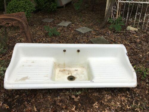 Antique Vintage Farmhouse Kitchen Sink 60 Inch American-Standard 1920