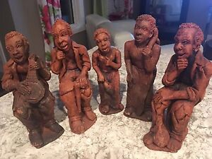 African clay figurines