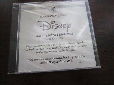 Disney Great Leader Strategies 1998 by Lee Cockerell Business Leadership CDs NEW