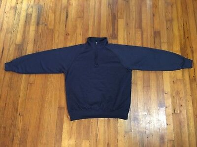 Jansport Navy Blue Pullover Long Sleeve Windbreaker Jacket L Large Mens Womens for sale  Shipping to India