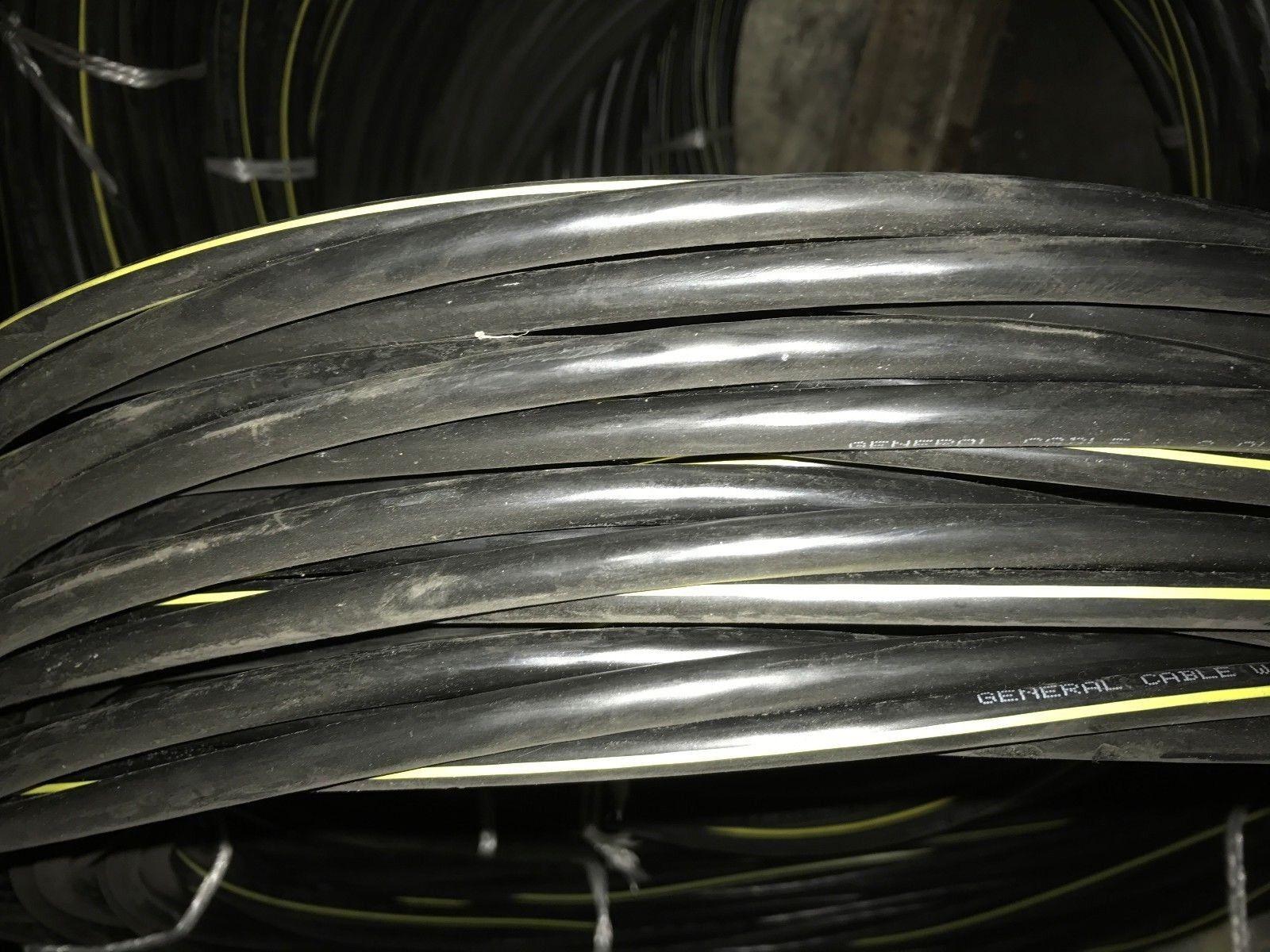 PER FOOT Aluminum URD Triplex Cable 4//0-4//0-2//0 Sweetbriar 600 Volt Wire
