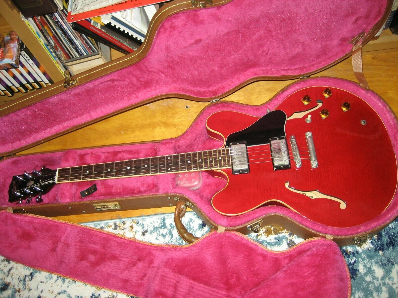 Gibson ES-335 Vintage 61 Re-Issue Slim-Taper Dot Neck 1990 Free Fedex To US 48 - $4,950.00