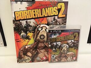 PS3 BORDERLANDS 2 & STRATEGY GUIDE