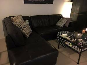 Bay Leather Prato Modular Sofa Neutral Bay North Sydney Area Preview