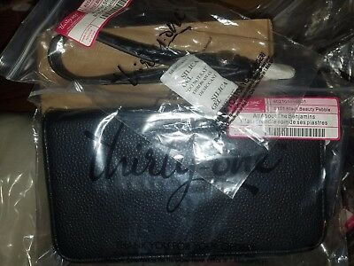 Thirty One All About The Benjamins Wallet Black With Wristlet Strap Rv  56
