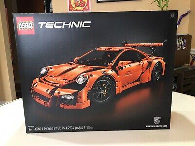 LEGO Technic Porsche 911 GT3 RS 42056 Orange NEW Original Boxes Never Assembled