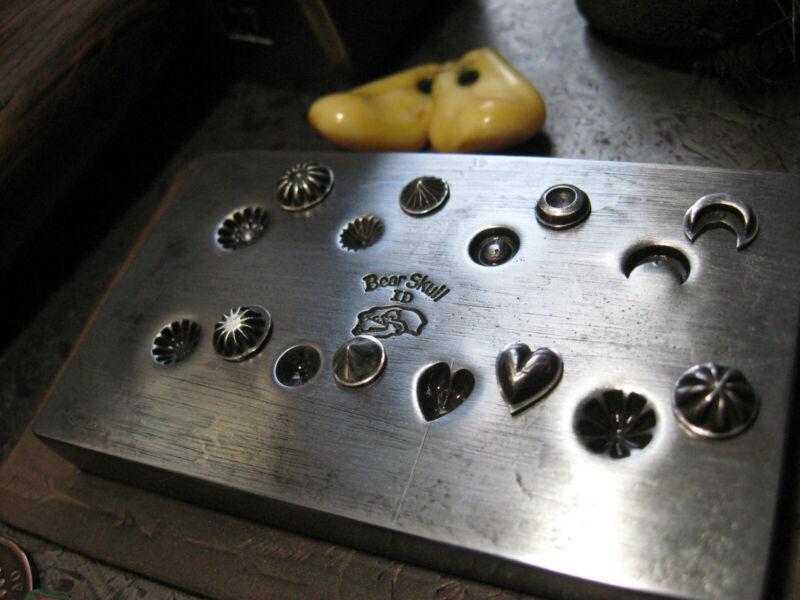 Shot Plate Jewelry Die Mold Steel Tool Stamp