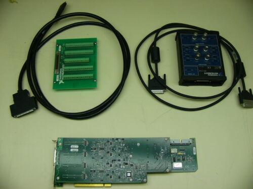 NI PCI-4452 DAQ, BNC2140, CB68LP, 184748A-02, TY-SHC68-C68-A1 (184747A-02)