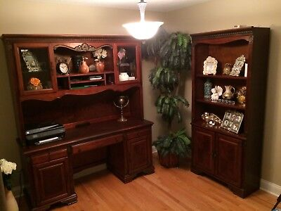 Martin Furniture – Including Collections Designed by Kathy Ireland3 pieces 3 Piece Cherry Bookcase