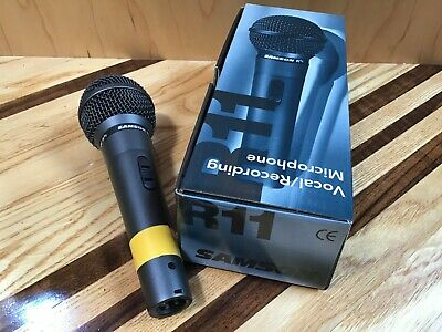 SAMSON R11 Vocal / Recording Microphone for Live Performance and Recording