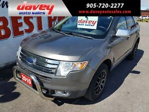 2010 Ford Edge SEL ALL WHEEL DRIVE, POWER SUNROOF, HEATED LEA...