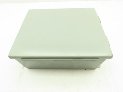 Electromate 1008lp Steel Electrical Enclosure Junction Box 10x8x4 Wall Mount