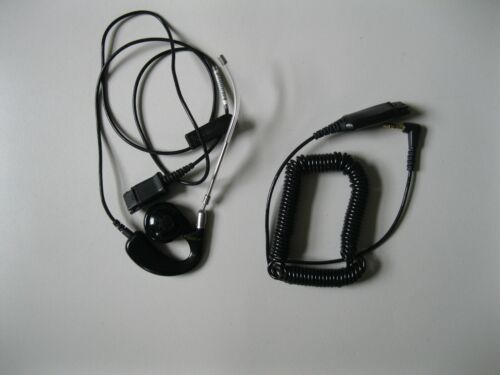 Plantronics H41  Mirage Voice Tube Over The Ear Headset w/ 3.5MM QD cable