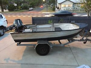 Tinnie - 14ft fishing Quintrex 30hp 2stk Suzuki motor Scarborough Redcliffe Area Preview