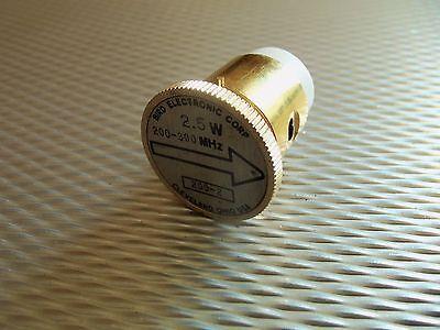Bird 43 Thruline WattMeter Element 200-2 2.5W 200-300MHz