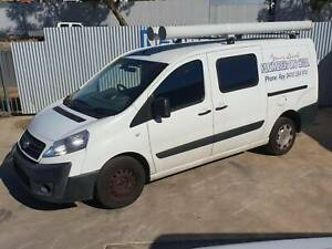 FIAT SCUDO ROOF RACKS AND SHELVING Wingfield Port Adelaide Area Preview