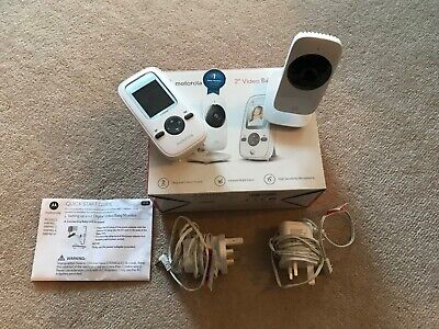 Motorola MBP481 Video Baby Monitor 2 Inch Display