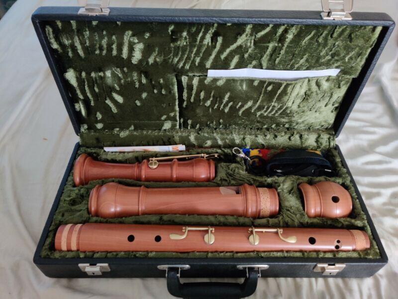 Denner bass recorder flute by Mollenhauer