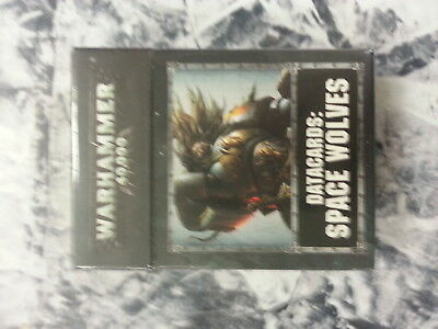 WARHAMMER 40K SPACE WOLVES DATACARDS - NEW AND SEALED