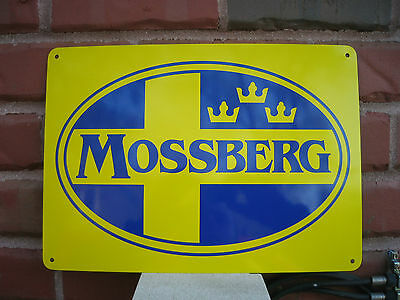 MOSSBERG & SONS Firearms SHOTGUN SIGN ADVERTISING HUNTING STORE LOGO SIGN 7DAY
