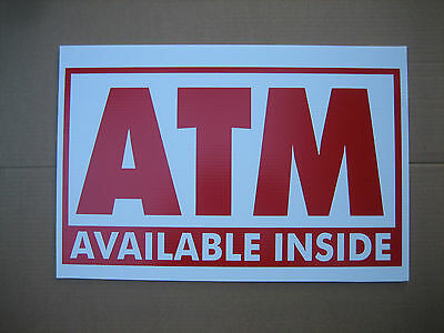 50 Atm Coroplast Signs 16x 24 2.50 Ea. Mix Match 5 Designs To Choose
