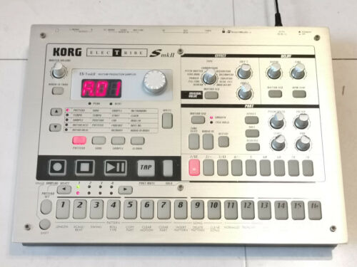 KORG ES-1 MKII Electribe Sampler Drum Machine From Japan Tested Fast shipping