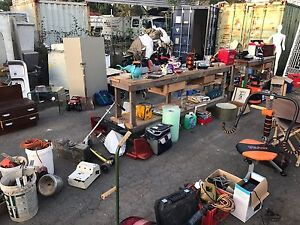 Garage sale tomorrow SUNDAY 23rd massive container storage clear out Highland Park Gold Coast City Preview