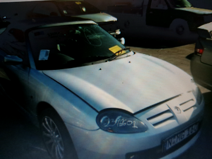 MG F Convertible  man 03 mod wrecking now Yennora Parramatta Area Preview