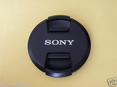 55mm DSLRs Camera lens Center Pinch Snap Cap Dust Cover for Sony Camera  New