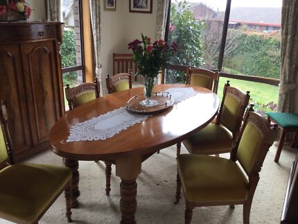 Hexagon Glass Table Chairs Not Included Dining Tables Gumtree - Hexagon glass dining table