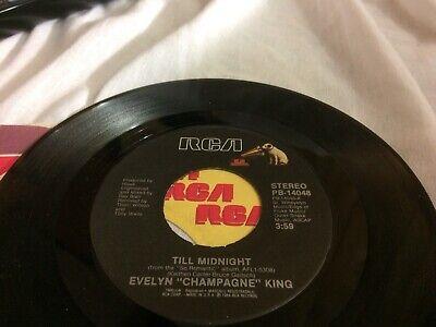 EVELYN CHAMPAGNE KING I'M SO ROMANTIC ~TILL MIDNIGHT  V 45 7 - 7 Till Midnight