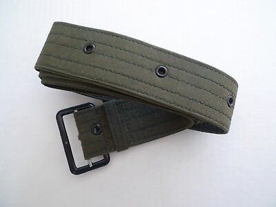 BARBOUR- VINTAGE -WAXED COTTON THORNPROOF BELT- SAGE -NEW OLD STOCK -MADE @UK-42