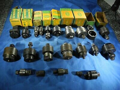 16 Greenlee Round Radio Chassis Punch Sheet Metal Conduit All Different Sizes
